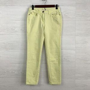 eb58f8ed365d5 Boden 6P Light Yellow Color Skinny Leg Jeans